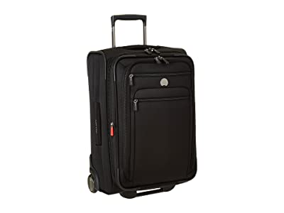 Delsey Helium Sky 2.0 Carry-On 2 Wheel Exp. Trolley (Black) Luggage