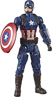 "Avengers Marvel Endgame Titan Hero Series Captain America 12 ""-Scale Super Hero Action Action Toys with Port Tx Hero Power Fx"