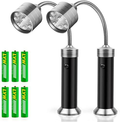 KOSIN Barbecue Grill Light Magnetic Base Super-Bright LED BBQ Lights - 360 Degree Flexible Gooseneck, Weather Resista...