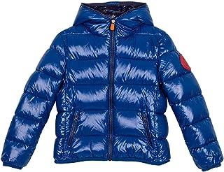 Save The Duck Junior Boy - Chaqueta azul brillante para niño, modelo J3128BLUCK901502, modelo J3128BLUCK9 azul (bluette) 8...