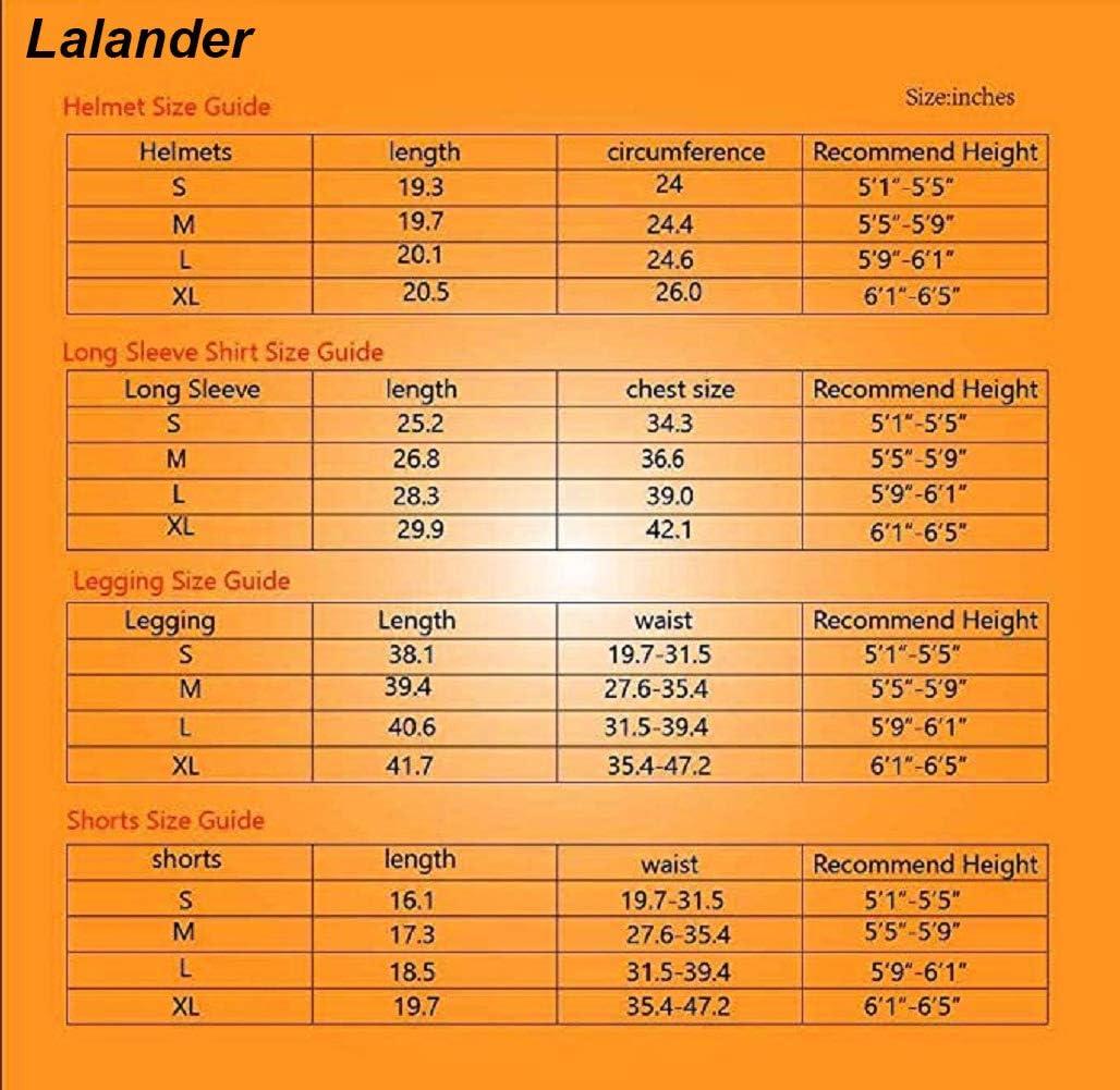 Lalander arti marziali basket per sportivi rugby paintball Maglia protettiva imbottita per calcio