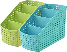 Kuber Industries Compact 2 Piece Plastic Storage Basket (CTKTC5267)