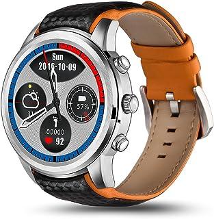 スマートタッチスクリーン時計携帯電話男性女性青少年人造人間5.1 クアッドコアプロセッサ2gb の + 16 Gb 多機能無線 Lan ブルートゥース携帯電話の腕時計,Gray