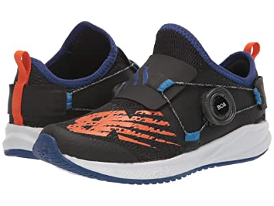 New Balance Kids FuelCore Reveal (Little Kid) (Black/Marine Blue) Boys Shoes