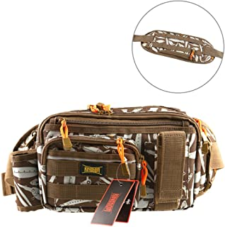 Kingdom Multifunctional Fishing Backpack Waterproof Fishing Tackle Storage Bag Fishing Gear Bag Shoulder Bag