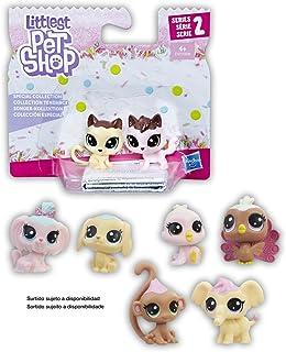 Hasbro–Littlest Pet Shop Special Collection 1SURT (2Pets Mini) 8models sdos, Multicoloured (Habro 399e)