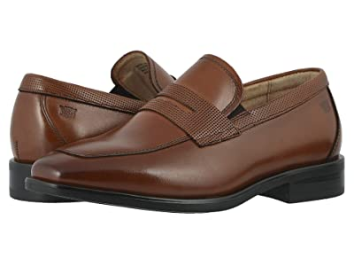 Florsheim Kids Postino Penny, Jr. (Toddler/Little Kid/Big Kid) (Cognac) Boy