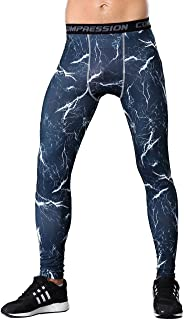 Men's Camouflage Compression Shorts Workouts Tight Leggings Wicking Pants