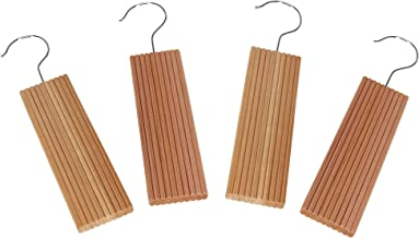 CedarFresh 32752-1 Cedar Wood Hang-Ups with Lavender | Freshen and Protect Closets 4-Pack