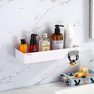 YOHOM Adhesive Shower Caddy Bathroom Shelf Wall Organizer Floating Shelves Shampoo Holder for Shower Storage Kitchen Baske...