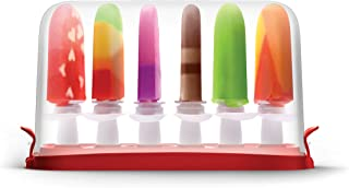 Zoku Quick Pop Storage Case, Stores 6 Popsicles Upright in Airtight Container, Compatible with Zoku Quick Pop Sticks