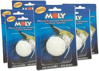 Moly Alimento Peces para Vacaciones - Pack 6 Oferta