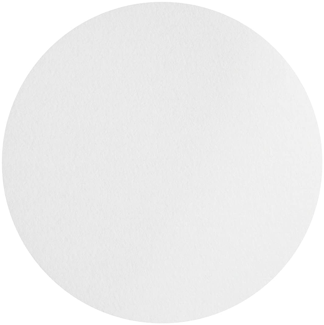 Whatman 1003-185 Quantitative Filter Paper Circles, 6 Micron, 26 s/100mL/sq inch Flow Rate, Grade 3, 185mm Diameter (Pack of 100)