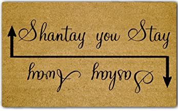 """Eureya Funny Door Mat Entrance Floor Mat Sashay Away; Shantay You Stay Non-Slip Doormat Welcome Mat 18""""x30"""" Machine Washab..."""