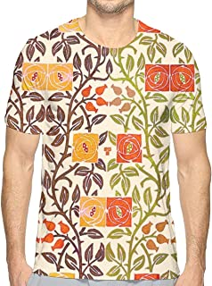 Watercolor Scales Colorful Short Sleeve tee Novelty Teen Unisex T Shirt