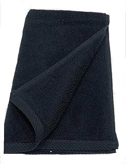 BYFT 1010302020101 Iris Twill Hem - Hand Towel - 50x100 CM - 550 GSM - Black