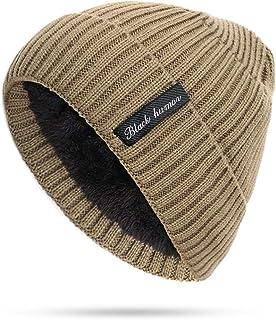 2 Pieces Set Mens Plus Thick Knit Beanies Hat Scarf Man Woman Warm Soft Cap Scarves