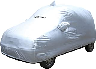 Amazon Brand - Solimo Santro Xing Water Resistant Car Cover (Silver)
