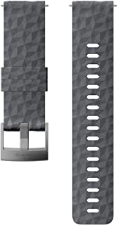 Suunto Watch Strap, 24mm, Silicone, Graphite Gray- Explore, M: 130-230 mm