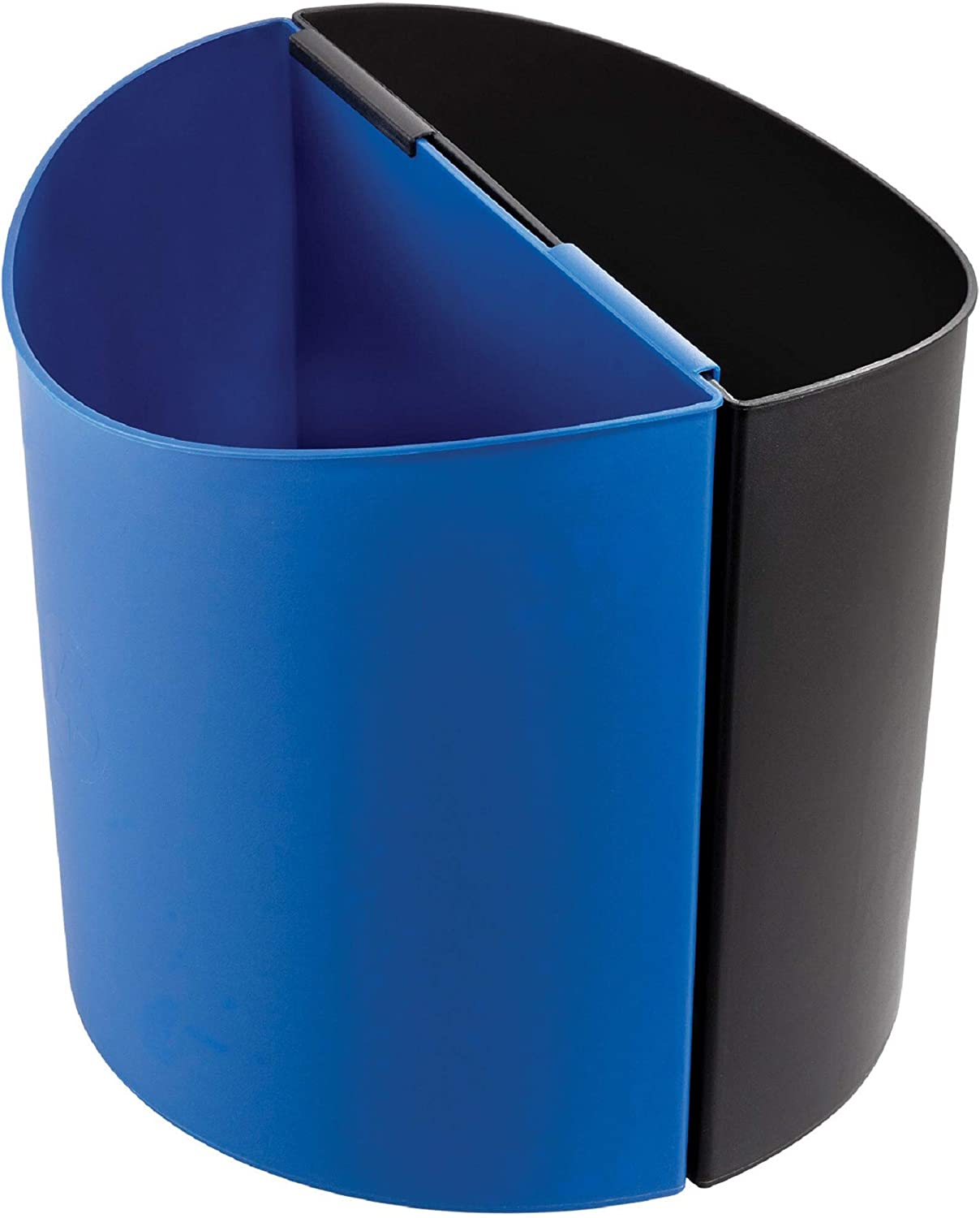 Safco Products 9928BB Desk-Side NEW before selling ☆ Elegant Waste Trash Recycling 7-Gal Can