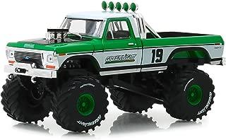 Greenlight 86161 1: 43 1974 Ford F-250 Monster Truck - #19 Racing Team