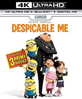 Despicable Me   4K + Blu-ray   Arabic & English