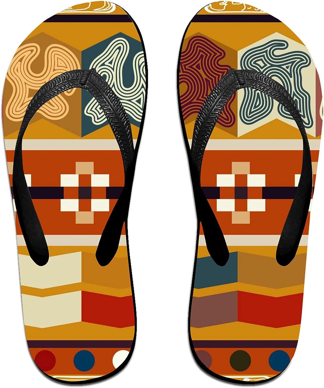 Ethnic Tribal Art [Alternative dealer] Flip-Flop Sandals 2021 new Summer for f Beach Slippers