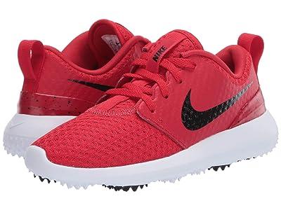 Nike Golf Roshe G (Little Kid/Big Kid) (University Red/Black/White) Men