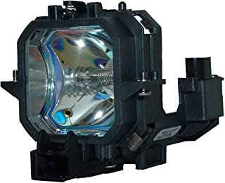 QueenYii ELPLP27 Compatible for EPSON EMP-74 EMP-75 EMP-54 Replacement Projector Lamp