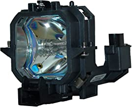 QueenYii ELPLP27 Compatible for EPSON EMP-54 EMP-74 PowerLite 54c Replacement Projector Lamp