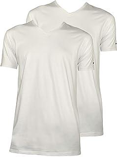27c212e3bca0 1stAmerican Abanderado Camisetas Interior de Manga Corta Cuello en V para  Hombre - T-Shirt