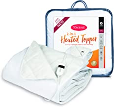 Tontine T9003 Microfibre Heated Topper,Queen Bed