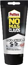 Pattex No Más Clavos Invisible, pegamento resistente transparente, pegamento extrafuerte para madera, metal y más, adhesiv...