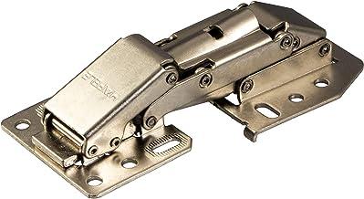 Gedotec Caravanscharnier CH 300 klapscharnier met softclose-demping | meubelscharnier voor opliggende aanslag | staal vern...
