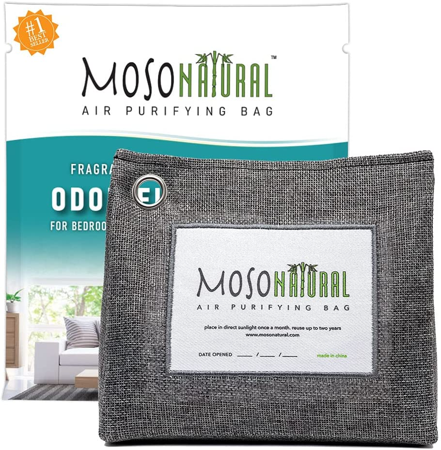 MOSO NATURAL: The Original Air Purifying Manufacturer direct delivery Shipping included Bag. Up Stand 600g Desi
