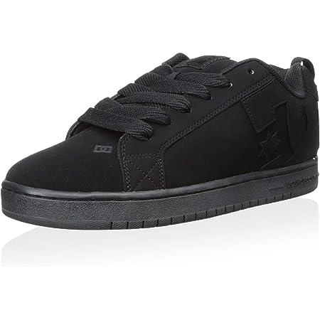 black print 10 D D US DC Mens Villain TX Slip-on Skate Shoes