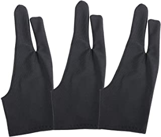 3 Pack Artists Tablet Drawing Gloves for Drawing or Other