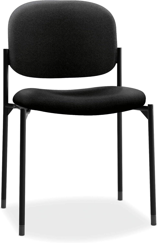 Basyx by HON VL606 Guest Chair, Black