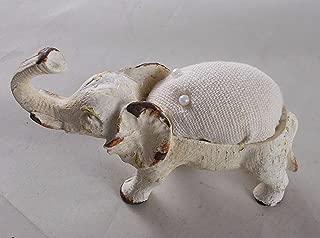 Elephant Pin Cushion w/ Trunk Raised