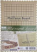 Beadsmith MWB10 Macrame Board, Mini - 9 x 6 Inches