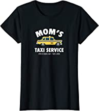 Womens Mom's Taxi Service Funny Busy Parent Mother's Day Gift  T-Shirt