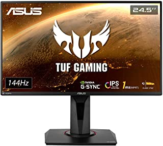 "ASUS VG259Q 24.5"" Gaming Monitor 144Hz Full HD (1920 x 1080) 1ms IPS ELMB FreeSync Eye Care DisplayPort HDMI"
