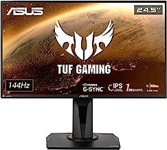"ASUS TUF Gaming 25"" 1080P Monitor (VG259Q) - Full HD, IPS, 144Hz, 1ms, Extreme Low Motion Blur, Speaker, Adaptive-Sync, G-..."