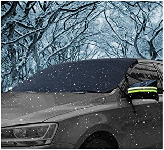 AUPERTO Windshield Cover, Windshield Snow Cover Ice Protector Waterproof Frost Rain Resistant 58