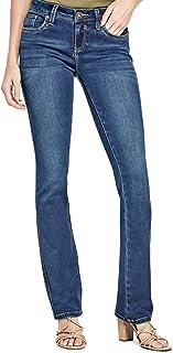 GUESS Factory Women's Visha Slim Bootcut Jeans
