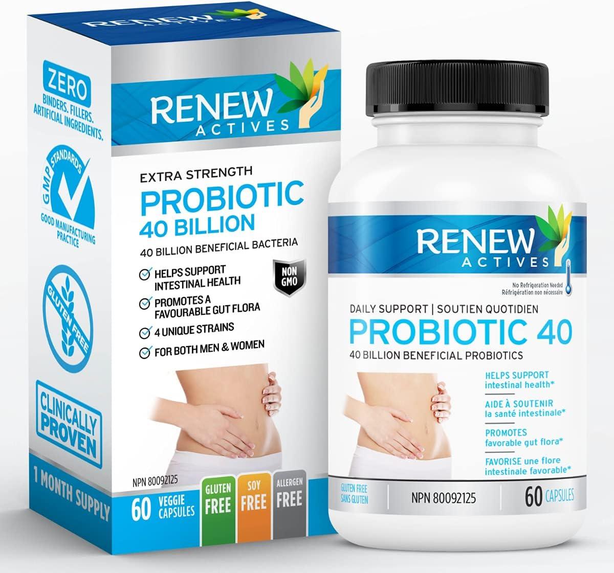 Buy Renew Actives Double Strength Probiotic High Potency ...