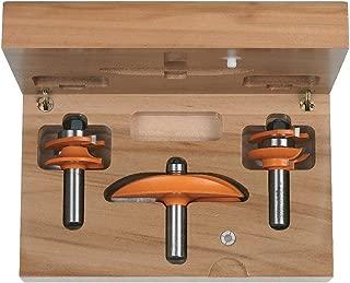 CMT 800.512.11 3-Piece Standard Kitchen Set in Hardwood Case, 1/2-Inch Shank