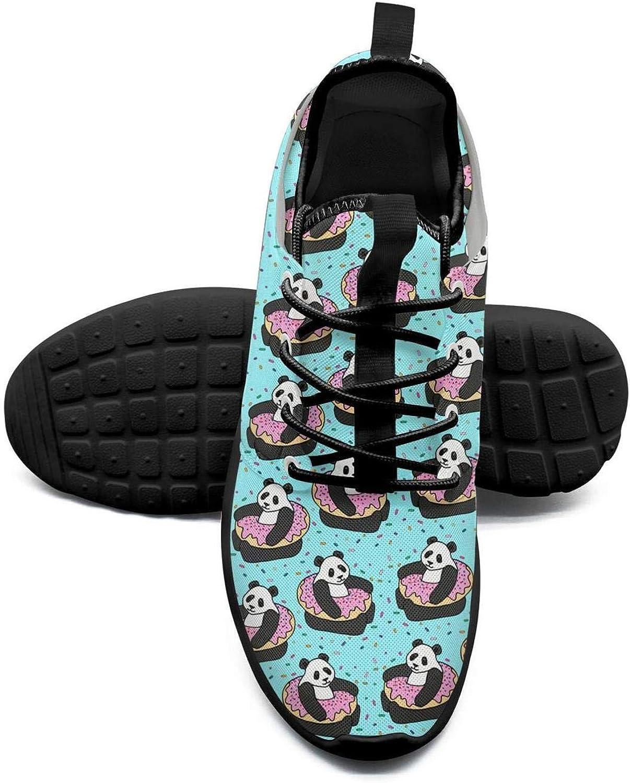ERSER Panda Bear Donut Womens Lightweight Running shoes