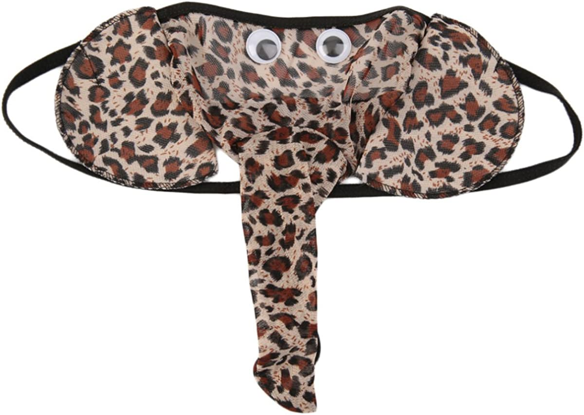 Cozylkx latest Sexy Men's San Antonio Mall Boy Elephant G-Strings Underwear Thongs T-Bac