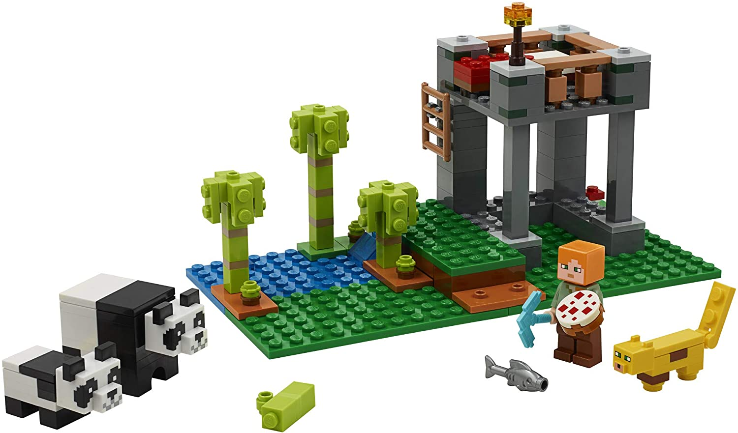 LEGO Minecraft The Panda Nursery 21158 Construction Toy for Kids, Great Gift...
